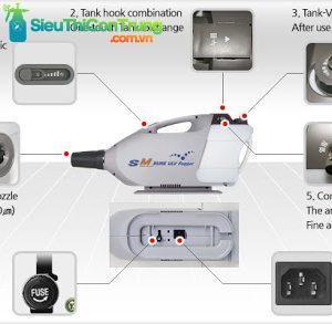 cách sử dụng máy phun sương SM Bure