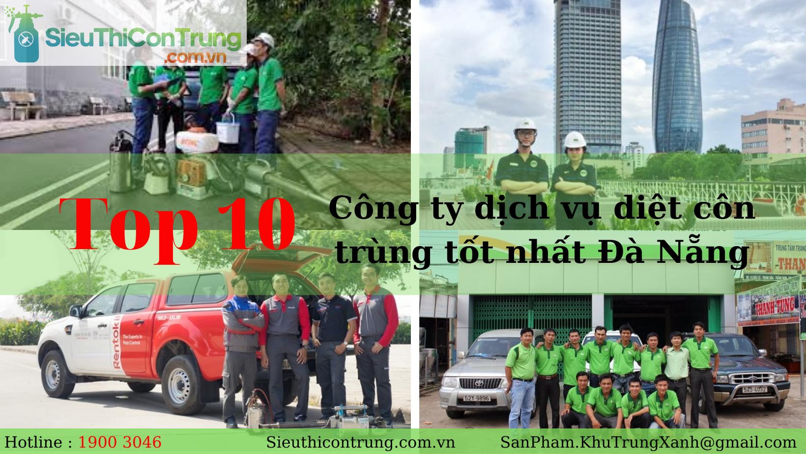 TUYỂN CHỌN 10 công ty dịch vụ diệt côn trùng tốt nhất Đà Nẵng